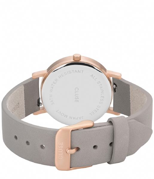 La roche petite dalmatian grey grey rose gold color cl40106 cluse the little green bag for Grande horloge murale solde