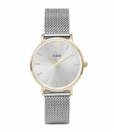 CLUSE Minuit Mesh Gold Plated Silver Colored gold plated silver colored (CW0101203015)