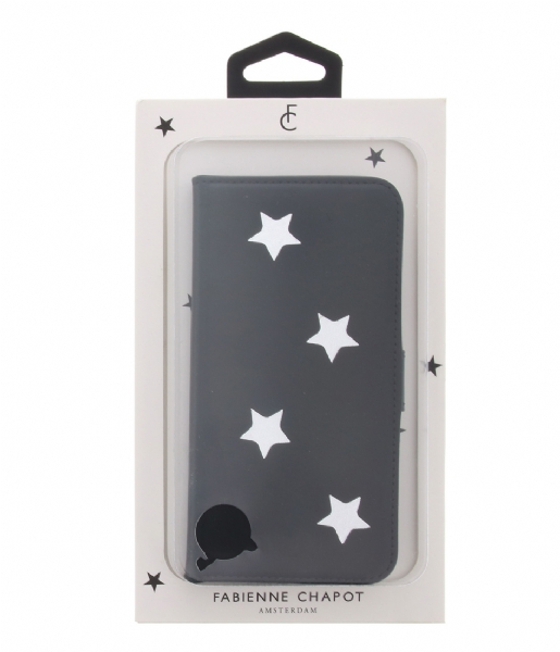 Fabienne Chapot  Silver Colored Reversed Star Booktype Huawei P9 Lite navy blue