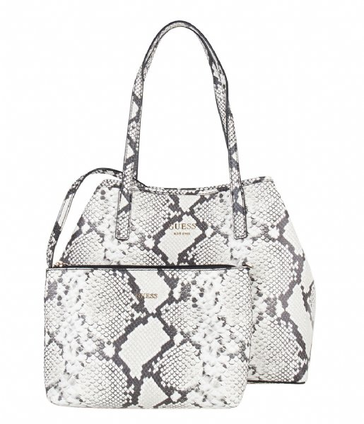 Guess Sac à main Vikky Tote python | The Little Green Bag