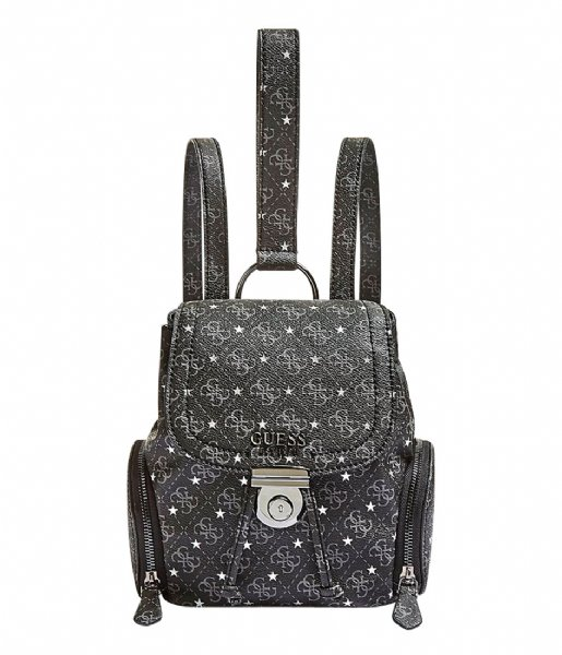 Affair Small Backpack coal Guess | The Little Green Bag