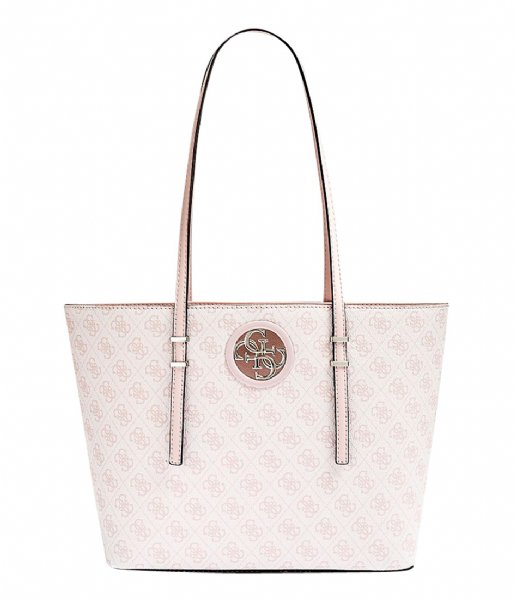 62cb2ddd974f Open Road Tote blush Guess   The Little Green Bag