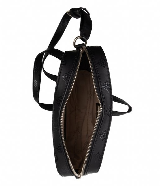 Guess Kamryn Crossbody Top Zip Zwart