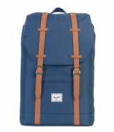 Herschel Supply Co. Retreat Mid Volume 13 Inch navy/tan (00007)