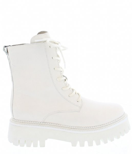 Bronx  Groov Y Ankle Boot Off White (5)